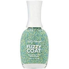 Lot of 3 Sally Hansen Fuzzy Coat Textured Nail Color, Fuzz-Sea, 0.31 Fluid Ounce