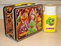 Vintage 1979 Muppet lunch box and thermos