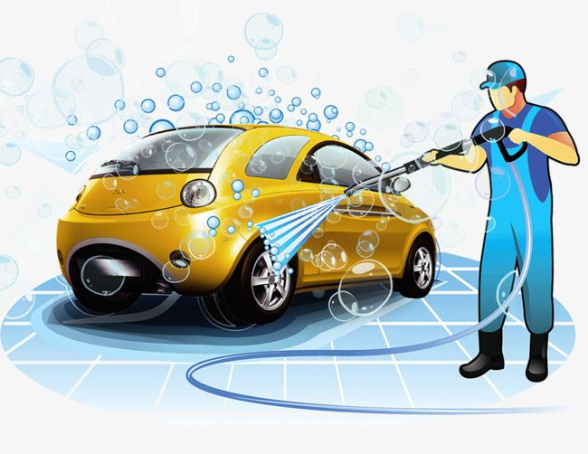 Car Washer Car Wash The Car Wash Car Maintenance Png