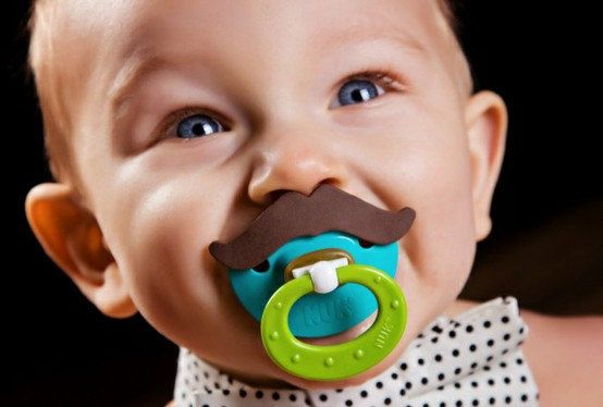 BPA Free Blrown Mustache NUK Mustache Pacifier by creativecuteness, $9.00    Great gift for mom-to-be at mustache bash baby shower.  http://www.etsy.com/listing/90367859/little-man-baby-shower-invitations