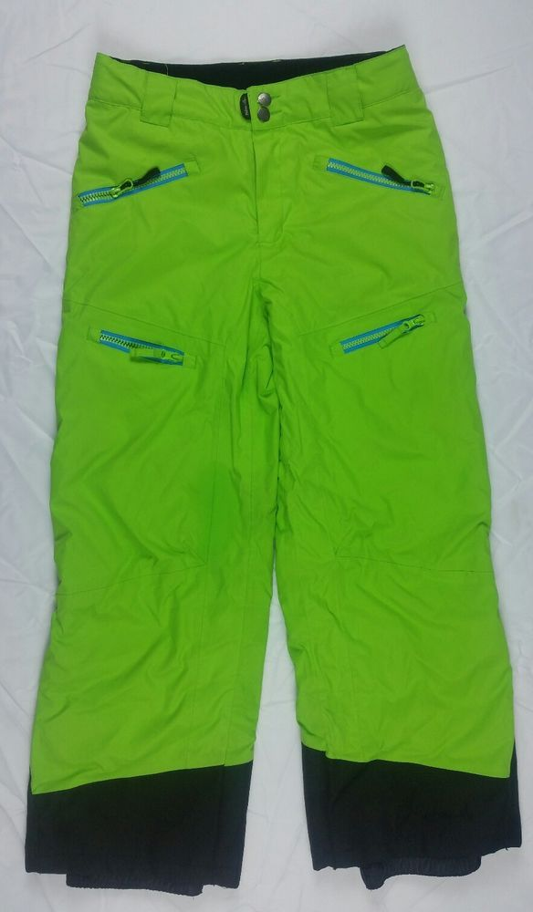 PULSE Youth Ski Pants size Medium Winter Snowboarding Lime Green Pants  | Sporting Goods, Winter Sports, Clothing | eBay!