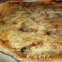Una pizza buonissima: Gorgonzola, noci, lardo di colonnata e mozzarella di bufala!!!