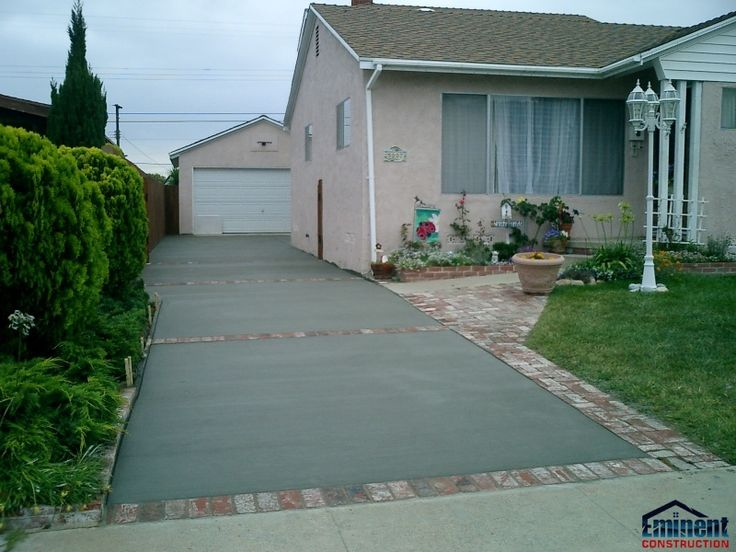 Concrete Driveway Design Ideas concrete driveway porch landing Painted Concrete Block Homes Finally A Concrete Drivewaypatio Utilizes Materials Which Are