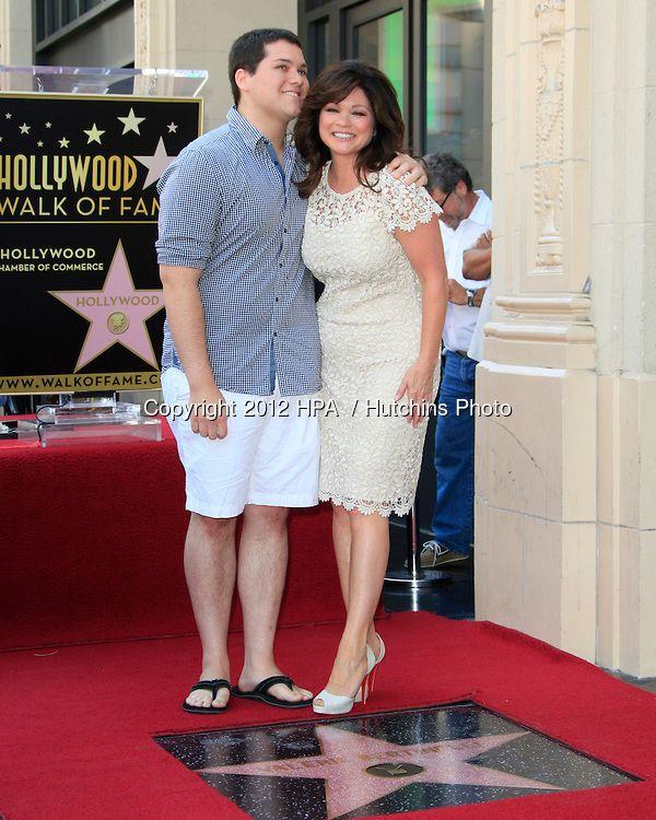 Valerie Bertinelli with her only child Wolfgang Van Halen