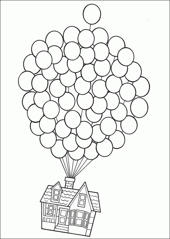 house on balloons coloring page from up select from 24848 printable crafts of cartoons nature animals bible and many more