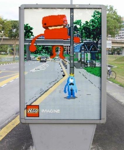 Rzeczywistość rozszerzona. Lego Imagine CityLight.