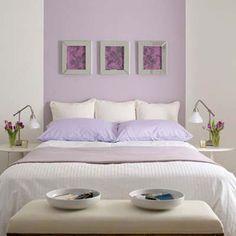 Superbe Habitacion Pintada De Color Lila Lavender Paint, Lavender Walls, Lilac  Walls, Lavender Color