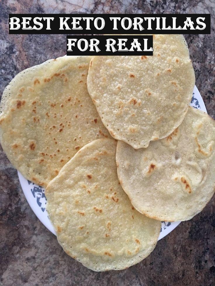 Beste Keto Tortillas – für echte! 2.9 Nettokohlenhydrate! – Reise zu winzigen Wanderungen