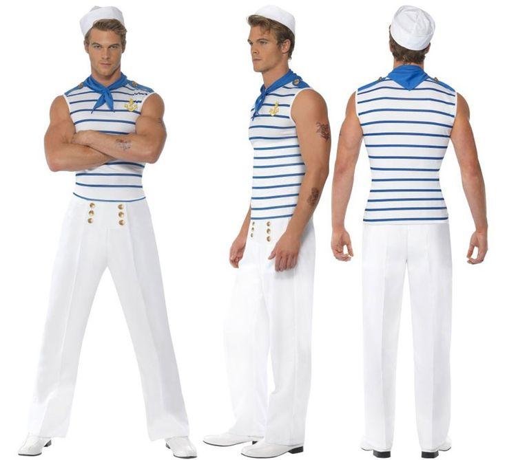 #Disfraz de #Marinero #Grumete #Sexy para Hombre en varias tallas. #Marino