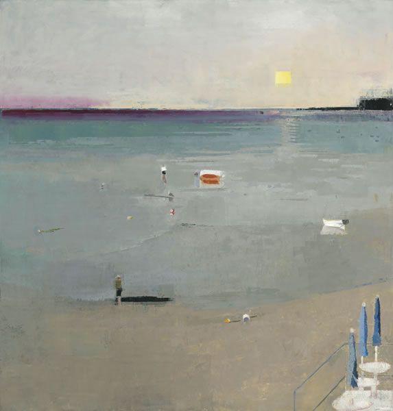 John Evans On the Beach : Painting Perceptions
