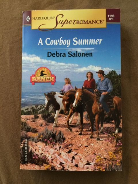 2004 A Cowboy Summer Debra Salonen Paperback Book Harlequin Romance Novel Ranch | eBay