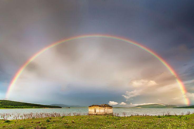 Church Under the Rainbow | Evgeni Dinev #photography: Natural Wonder, Church, Evgeni Dinev, Wedding Day, Rainbows, Inspiration Photography, Landscape Photography, Dinev Photography, Mothers Natural