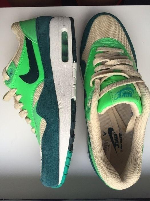 Mein Nike Air Max 1 Atomic Teal Green Grün 40 NEU Lime von Nike! Größe 40 für 155,00 €. Sieh´s dir an: http://www.kleiderkreisel.de/damenschuhe/turnschuhe/26692596-nike-air-max-1-atomic-teal-green-grun-40-neu-lime.