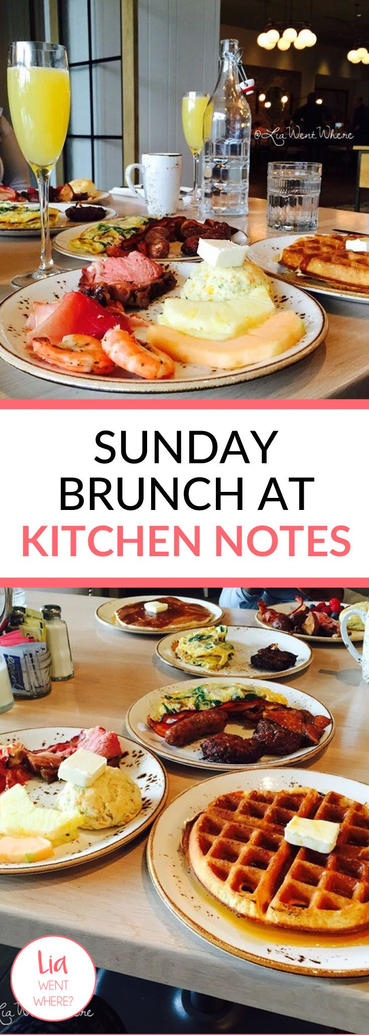 """…..And on Sundays, we brunch!  It doesn't take much to get me out the house, but mention the words """"buffet"""" and """"bottomless mimosas"""" you've peaked my interest. Use those words in the same sentence, and I'm running out the door."""