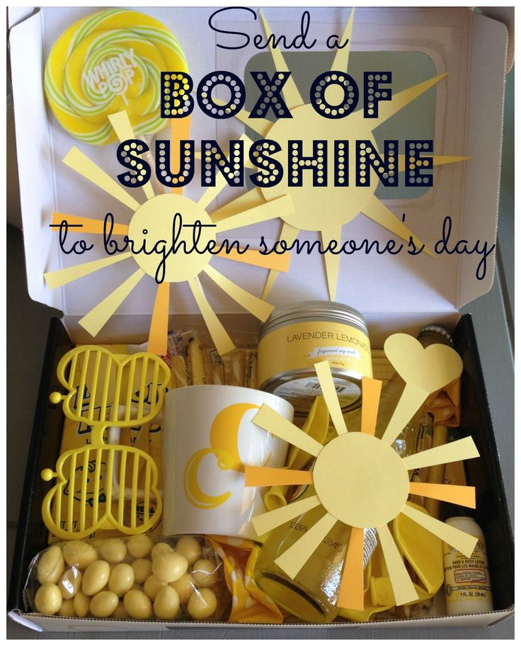 173 Best Images About Box Of Sunshine Ideas On Pinterest