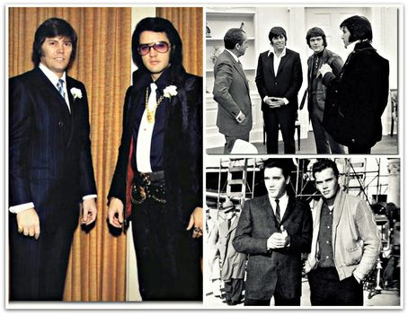 """Sonny West spent many years on the road with Elvis. Elvis' was """"Best Man"""" at Sonny's wedding 12/28/70 . When Elvis made movies in California Sonny joined him, and he regularly hung out with Elvis at Graceland. Through out the 1970's Sonny was always a part of Elvis' security team on concert tours. He also joined Elvis and fellow Memphis Mafia member, Jerry Schilling on December 21st 1970 at the White House; when Elvis met President Richard Nixon & received his Federal Narcotics Badge."""