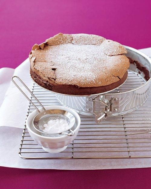 Flourless Chocolate Cake Recipe: Desserts, Chocolate Cake Recipes, Marthastewart, Flourless Chocolate Cakes, Food, Gluten Free, Martha Stewart, Flourless Chocolates Cake, Chocolate Lovers