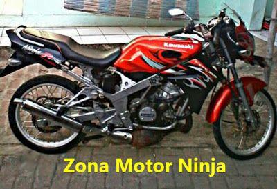 Modifikasi Motor Ninja R Velg Jari Jari