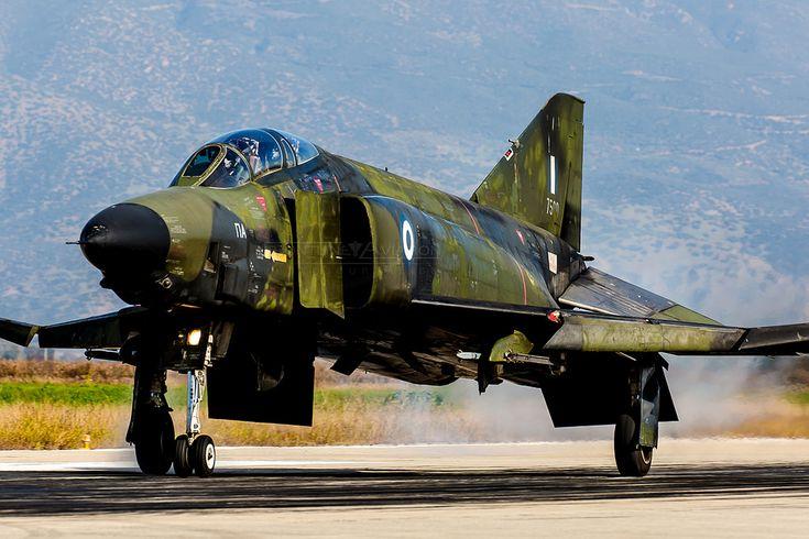 https://flic.kr/p/TbxWMA   'Roll Out', RF-4E Phantom II, 7496, Hellenic Air Force   348MTA (TRS), 110CW, Larissa AFB, Thessaly, Greece