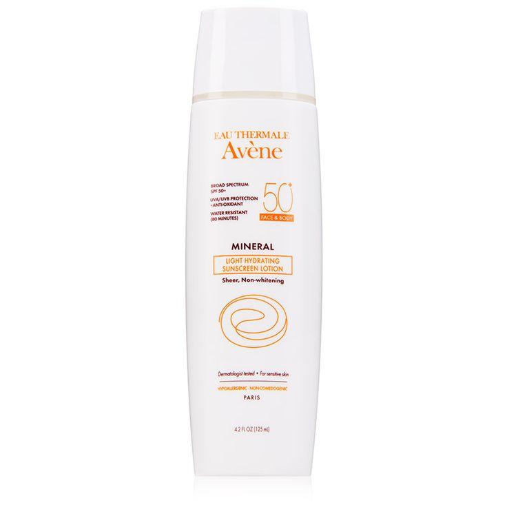 Avene Mineral Light Hydrating Sunscreen Lotion SPF 50 Image 1