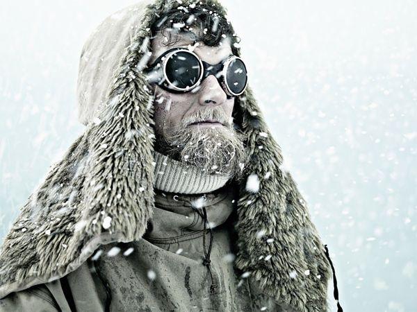 Explorer by David Boni, via Behance  hair and make-up, ice….. julie mcguire