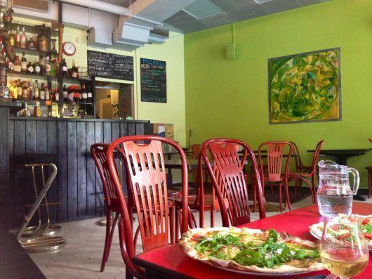 Linko - Pizza bar, Linnankoskenkatu 12, Töölö
