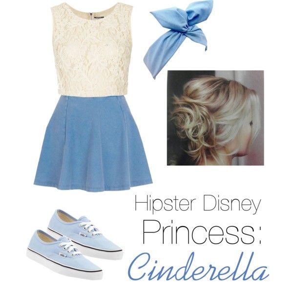 Hipster Disney princess: Cinderella
