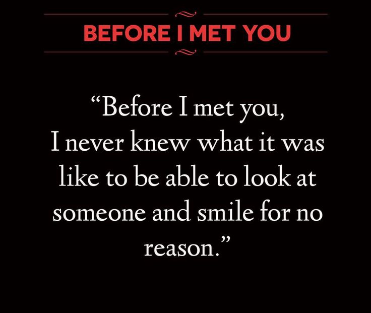 Before I mey you