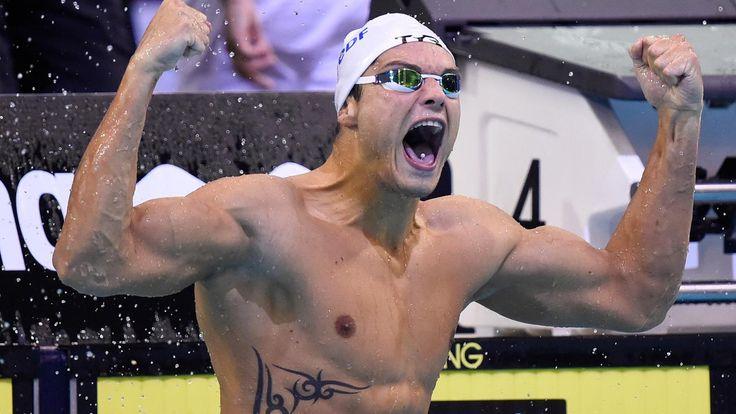 VIDEO. Natation : Florent Manaudou champion d'Europe du 50 m nage libre