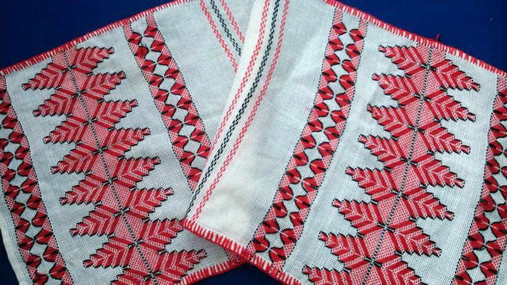 vintage Romanian table runner traditional by LegendaryAntiques, $26.99