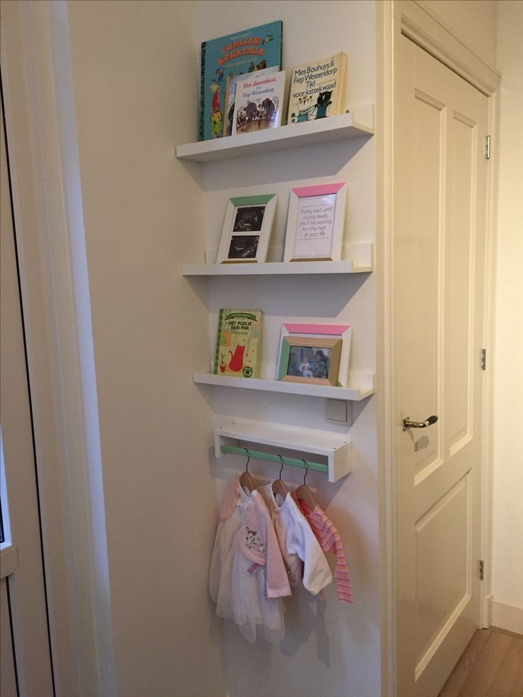 DIY - bookshelves baby room