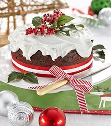 Christmas Chocolate Boiled Fruit Cake