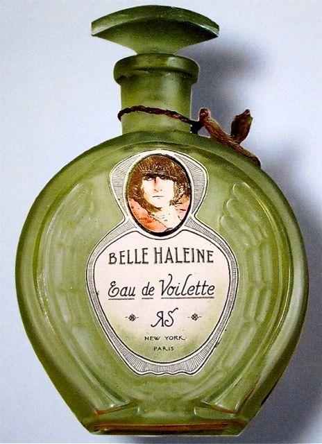 """∴ Marcel Duchamp """"Belle Haleine, Eau de Voilette"""" Perfume Bottle 1921"""
