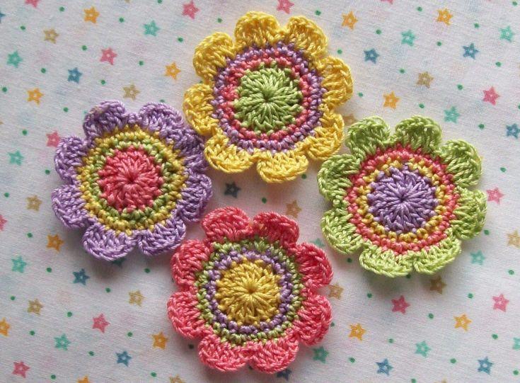 Crochet Motifs Free Patterns   Crochet Pattern Central – Free Smaller Motif Square Crochet