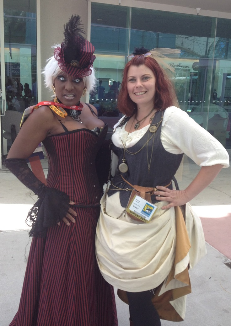 Retro Rack: Comic Con Outfits ~ Day Three Steampunk