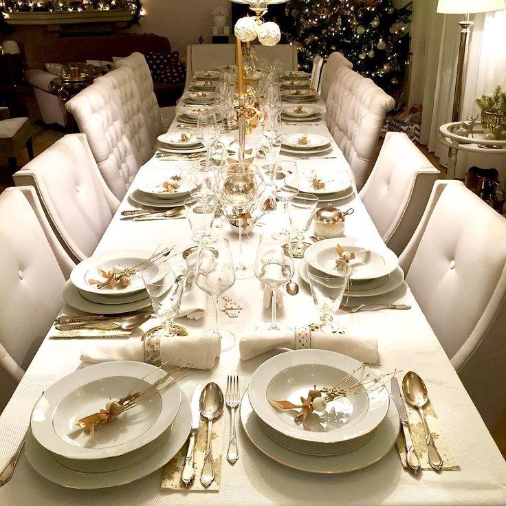 #mywork#gold#christmastable #myhome#homedecor #christmas #love#family#happytime