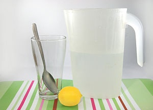 healthy lemonade (by the glass)