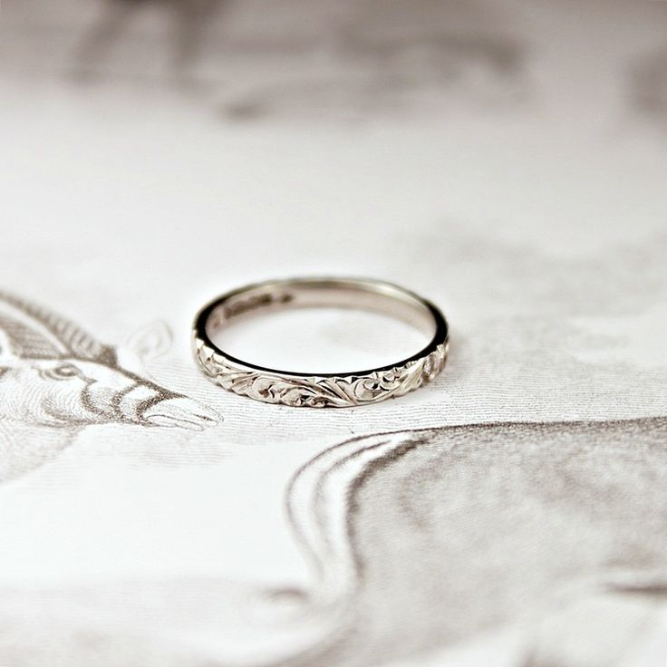 25 best ideas about engraved rings on simple