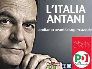 L'Italia Antani, andiamo avanti a supercazzole! #elezioni #pd #pdl #bersani