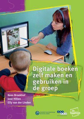 """""""Digitale boeken zelf maken en gebruiken in de groep - Praktische suggesties voor leidsters en leerkrachten"""" is een gratis te downloaden brochure (pdf), geschreven door Kees Broekhof, José Hillen, Elly van der Linden en m.m.v. van Annemieke Pecht en Loes Hermans."""
