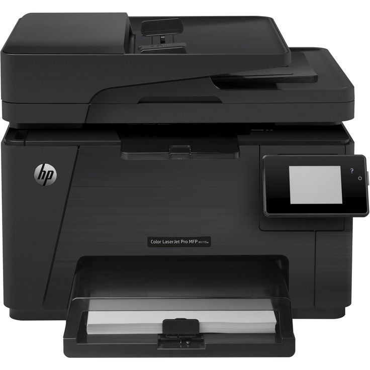 HP LaserJet Pro M177FW Laser Multifunction Printer - Refurbished - Co #CZ165AR#BGJ
