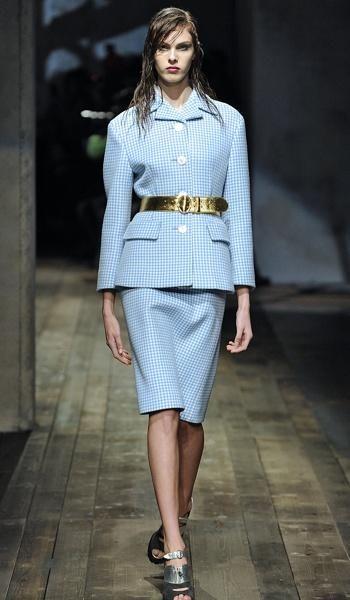 Fall Trend Checks From Prada Fashion Pinterest Fashion Fall Fashion Designers And