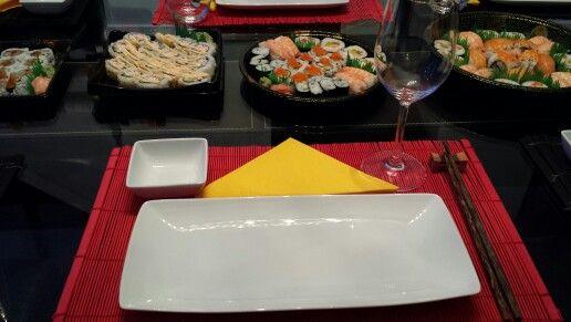 Sushi Dinner Setting