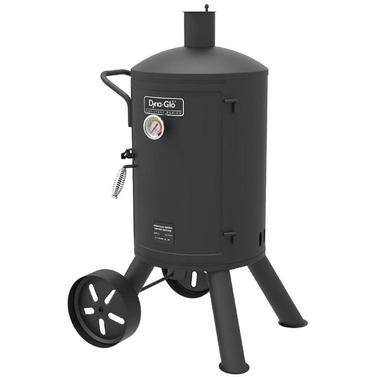 Dyna-Glo Signature Series Heavy-Duty Vertical Charcoal Smoker in Black