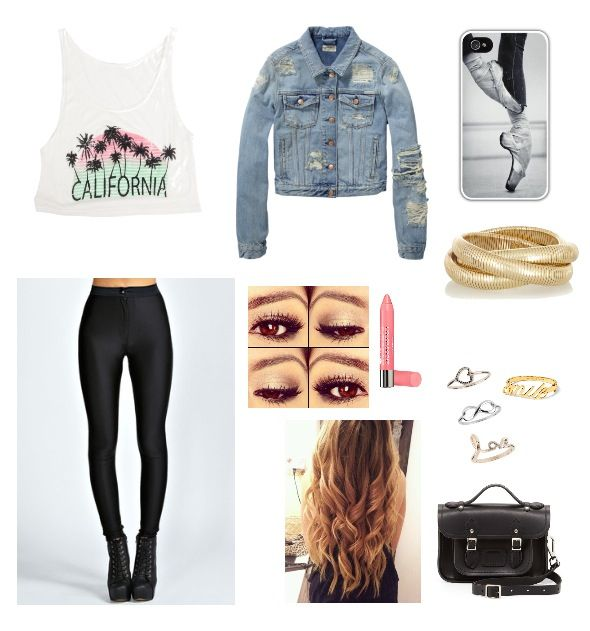 L.A outfit