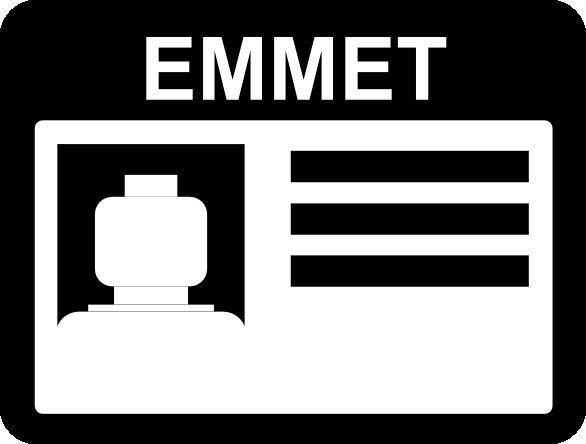 Picture of Lego Emmet Badge...vector