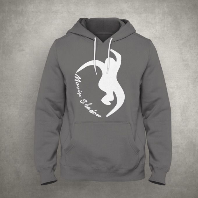 OFFICIAL DJ MOVING SHADOW RECORDS HOODIE  5 COLOURS MOVIN' SHADOW DRUM/BASS