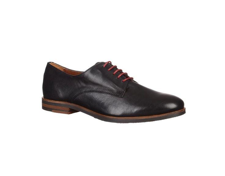Pantofi fara toc din piele naturala, de dama - Pantofi Marca HINSON.