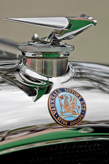 1928 Vauxhall 20-60 Hurlingham Speedster Hood Ornament