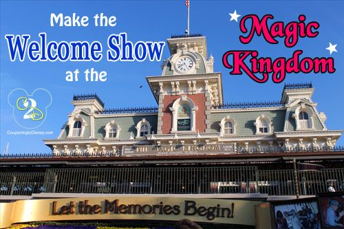 On your next Walt Disney World trip, do not miss the Magic Kingdom Welcome Show. In order to see the Welcome Show, you will need to arrive at the park at least 30 minutes prior to opening.